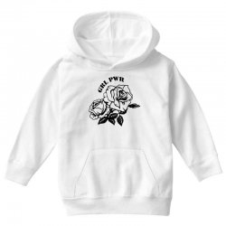grl pwr for light Youth Hoodie | Artistshot