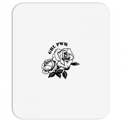 grl pwr for light Mousepad | Artistshot