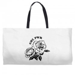 grl pwr for light Weekender Totes | Artistshot