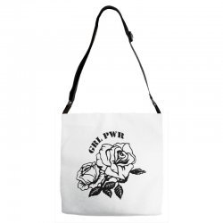 grl pwr for light Adjustable Strap Totes | Artistshot