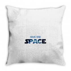 give me space Throw Pillow | Artistshot