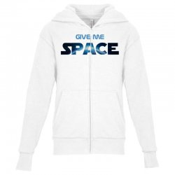 give me space Youth Zipper Hoodie | Artistshot