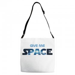 give me space Adjustable Strap Totes | Artistshot