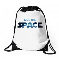 give me space Drawstring Bags | Artistshot