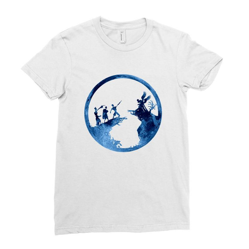 The Tale Of The Three Brothers Ladies Fitted T-shirt | Artistshot