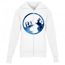 the tale of the three brothers Youth Zipper Hoodie | Artistshot