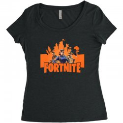 fortnite gallop skin Women's Triblend Scoop T-shirt | Artistshot