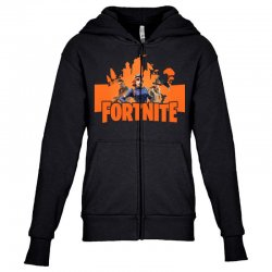 fortnite gallop skin Youth Zipper Hoodie | Artistshot