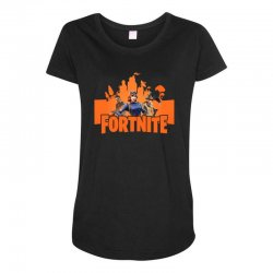 fortnite gallop skin Maternity Scoop Neck T-shirt | Artistshot