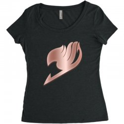 fairy tail Women's Triblend Scoop T-shirt | Artistshot