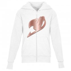 fairy tail Youth Zipper Hoodie | Artistshot