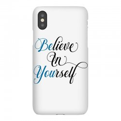 believe in yourself for light iPhoneX Case | Artistshot