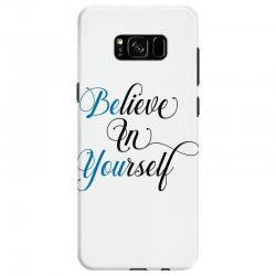 believe in yourself for light Samsung Galaxy S8 Case | Artistshot