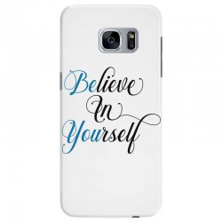 believe in yourself for light Samsung Galaxy S7 Edge Case | Artistshot