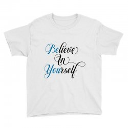 believe in yourself for light Youth Tee | Artistshot