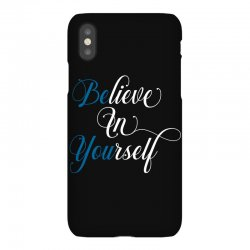 believe in yourself for dark iPhoneX Case | Artistshot