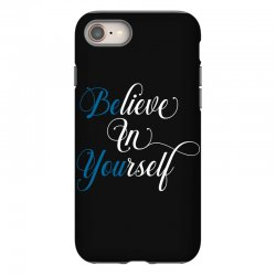 believe in yourself for dark iPhone 8 Case | Artistshot