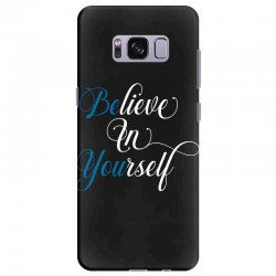 believe in yourself for dark Samsung Galaxy S8 Plus Case | Artistshot