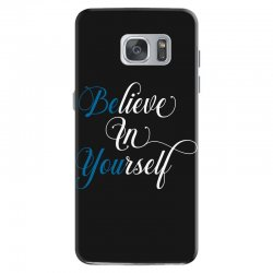 believe in yourself for dark Samsung Galaxy S7 Case | Artistshot