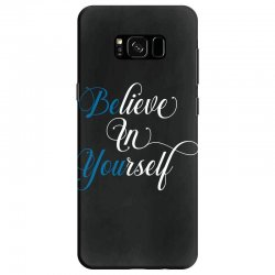 believe in yourself for dark Samsung Galaxy S8 Case | Artistshot