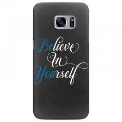 believe in yourself for dark Samsung Galaxy S7 Edge Case | Artistshot