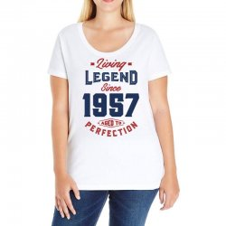 Living Legend 1957 Ladies Curvy T-Shirt | Artistshot
