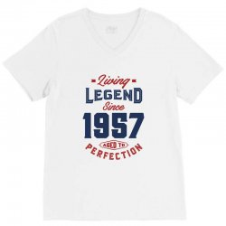 Living Legend 1957 V-Neck Tee | Artistshot
