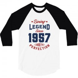 Living Legend 1957 3/4 Sleeve Shirt | Artistshot