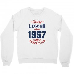 Living Legend 1957 Crewneck Sweatshirt | Artistshot