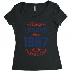 Living Legend 1957 Women's Triblend Scoop T-shirt | Artistshot
