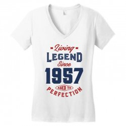 Living Legend 1957 Women's V-Neck T-Shirt | Artistshot