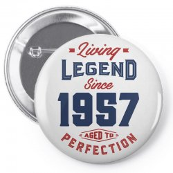 Living Legend 1957 Pin-back button | Artistshot