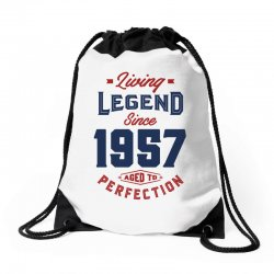 Living Legend 1957 Drawstring Bags | Artistshot