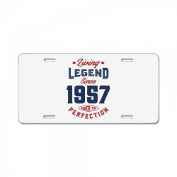 Living Legend 1957 License Plate | Artistshot