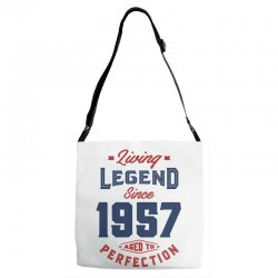 Living Legend 1957 Adjustable Strap Totes | Artistshot