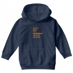 FRIEND REAL IDEA EMERGENCY NOTHING DREAMS Youth Hoodie | Artistshot