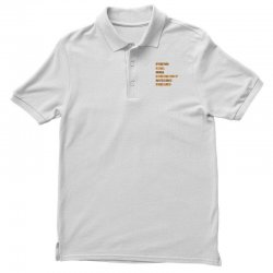 FRIEND REAL IDEA EMERGENCY NOTHING DREAMS Polo Shirt | Artistshot
