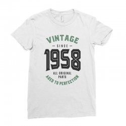 Vintage Since 1958 Ladies Fitted T-Shirt | Artistshot