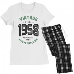 Vintage Since 1958 Women's Pajamas Set | Artistshot