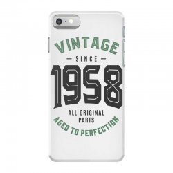 Vintage Since 1958 iPhone 7 Case | Artistshot