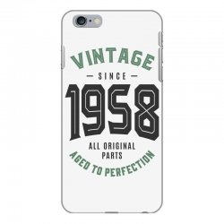Vintage Since 1958 iPhone 6 Plus/6s Plus Case | Artistshot