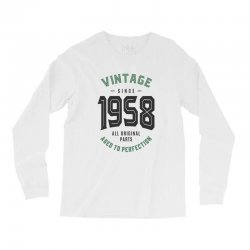 Vintage Since 1958 Long Sleeve Shirts | Artistshot