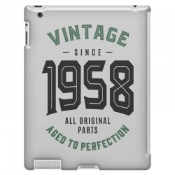 Vintage Since 1958 iPad 3 and 4 Case | Artistshot