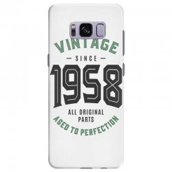 Vintage Since 1958 Samsung Galaxy S8 Plus Case | Artistshot