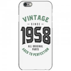 Vintage Since 1958 iPhone 6/6s Case | Artistshot