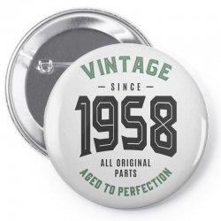 Vintage Since 1958 Pin-back button | Artistshot