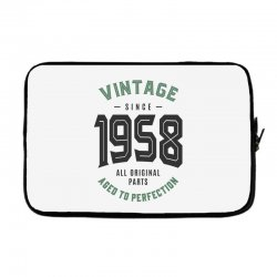 Vintage Since 1958 Laptop sleeve | Artistshot