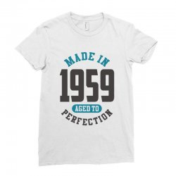 Made in 1959 Ladies Fitted T-Shirt | Artistshot