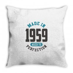 Made in 1959 Throw Pillow | Artistshot
