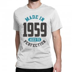 Made in 1959 Classic T-shirt   Artistshot
